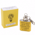 Adorable Mini keyring hip flask